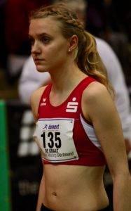 Patricia de Graat (hier beim Hallen-Meeting) konnte wegen eines Infekts nicht im Finale starten.