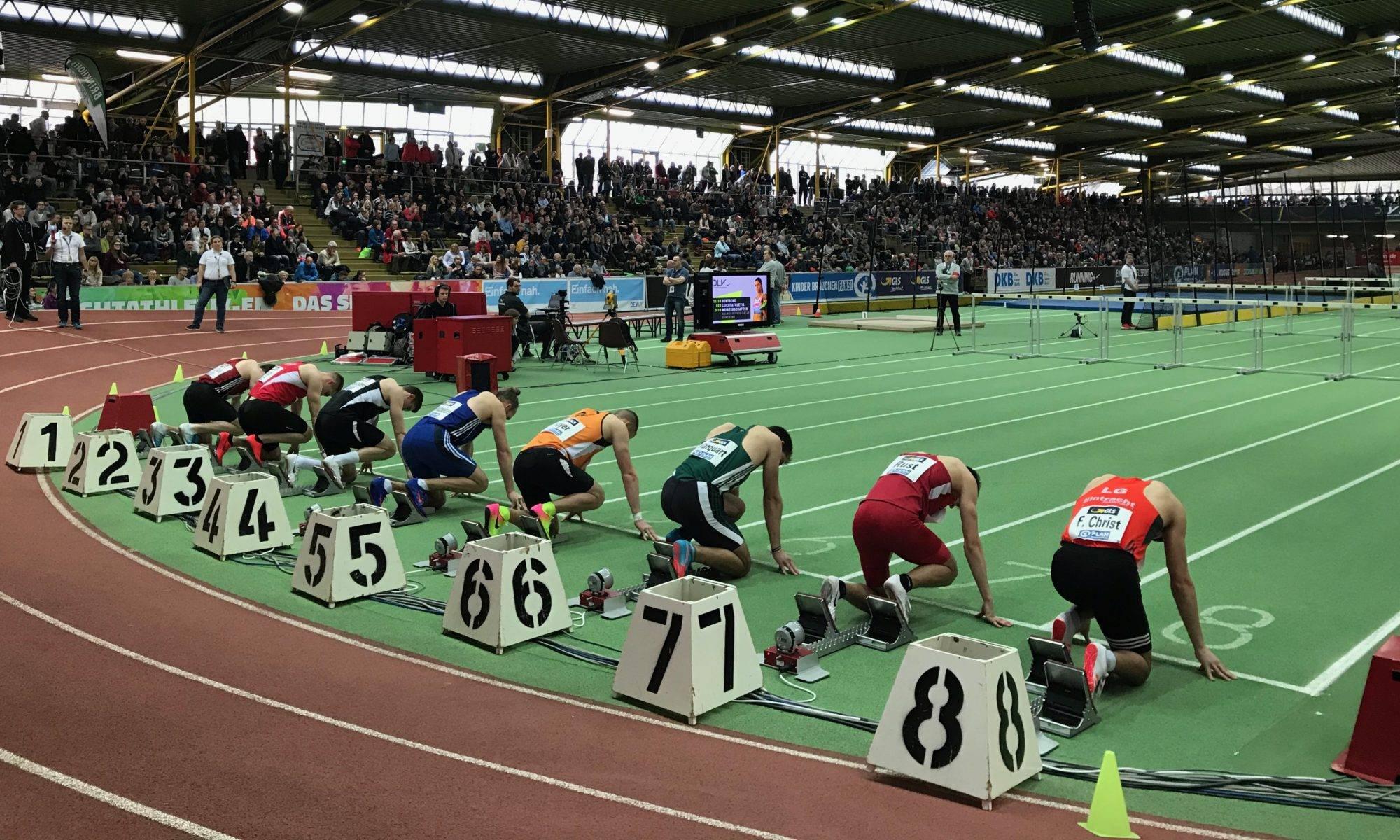 Deutsche Leichtathletik-Hallenmeisterschaften in Dortmund.